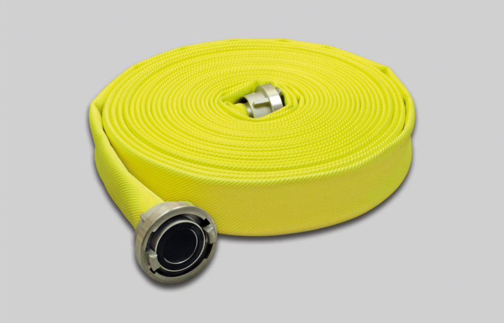 OSW Fire Fighting Hose Syntex Signal yellow