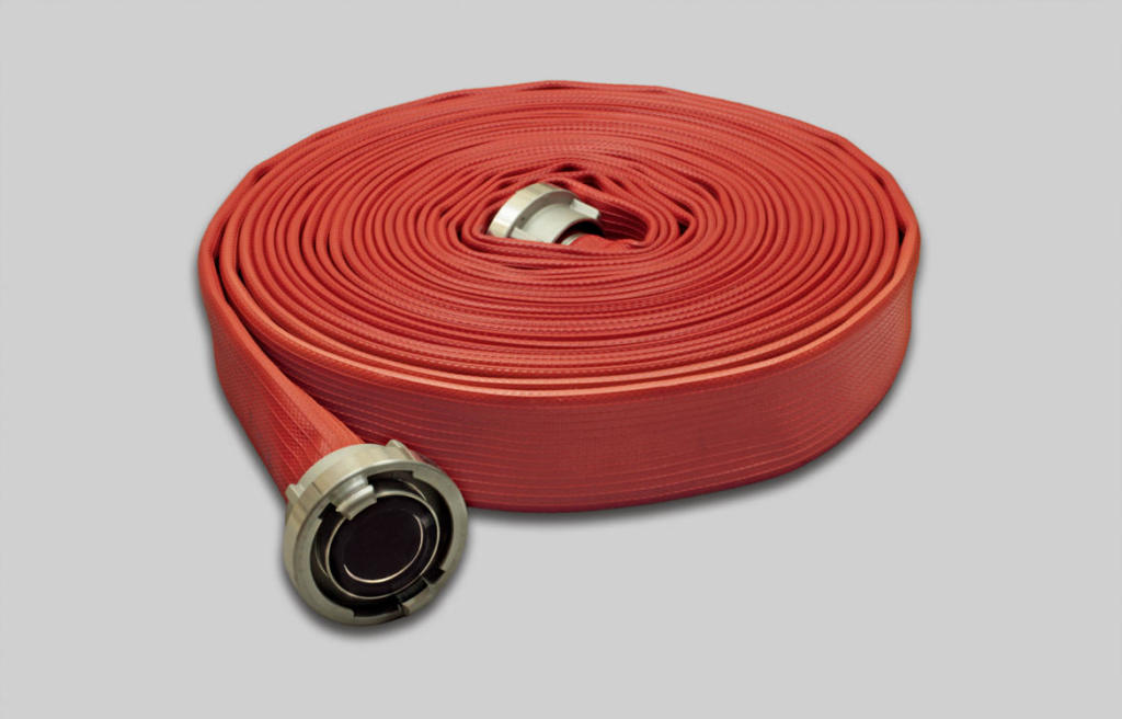 OSW Fire Fighting Hose Syntex Unidur red
